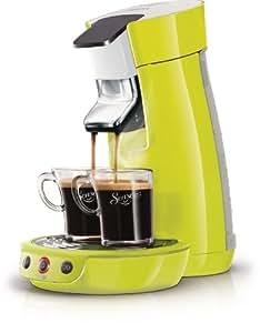 Philips Senseo HD7825/10OP1 Viva Cafe Kaffeepadmaschine inklusive Vorteilspaket limone