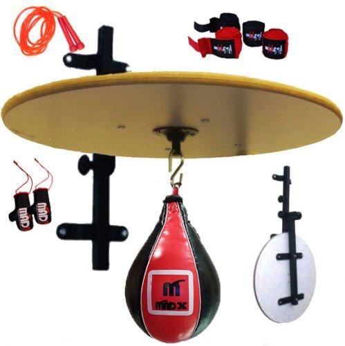 MADX - Plataforma plegable para sparring de boxeo, entrenamiento, bola