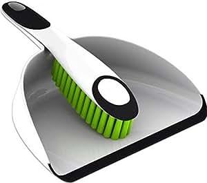 Minky Dustpan and Brush - White