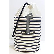 Jean Paul Gaultier - Portatrajes de viaje white with blue stripes 30cm(l) x 44cm(h) x 21cm(w)