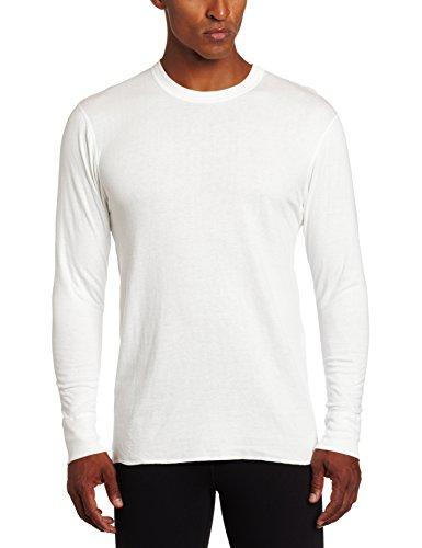 Duofold by Champion Thermals Men's Long-Sleeve Base-Layer Shirt 2XL White (Herren 2012 Thermal-shirt)