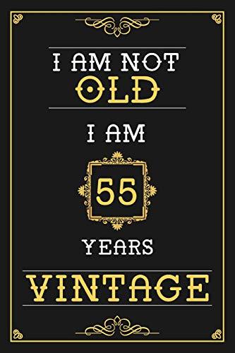 Vintage 55th Birthday Gift 55 Years Old Shirts Al Mejor Precio De
