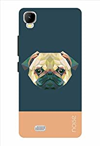 Noise Crystal Pug-Blue Printed Cover for Intex Aqua Speed