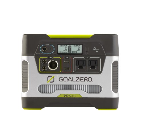 Solarstromerzeuger, Goal Zero 23000,Yeti 400 Solar Generator, Portable