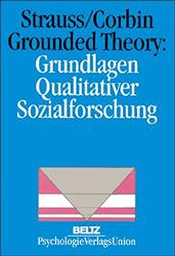 Buchcover: Grounded Theory: Grundlagen Qualitativer Sozialforschung (Book on Demand)