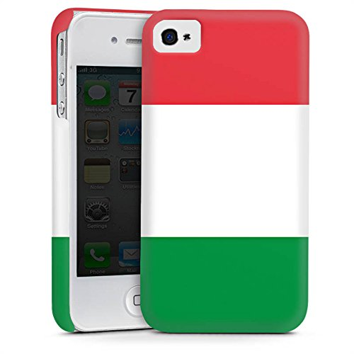 Apple iPhone 5s Housse Étui Protection Coque Italie Italie Drapeau Cas Premium mat
