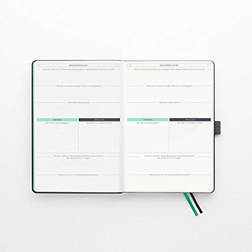 KLARHEIT ® | Life-Coach + Kalender | Der A5-Organizer für mehr Überblick, Struktur und Fokus im Alltag | Selbstcoaching-Tool, Wochenplaner für Termine, Notizbuch | (undatiert, beginne jederzeit) - 5