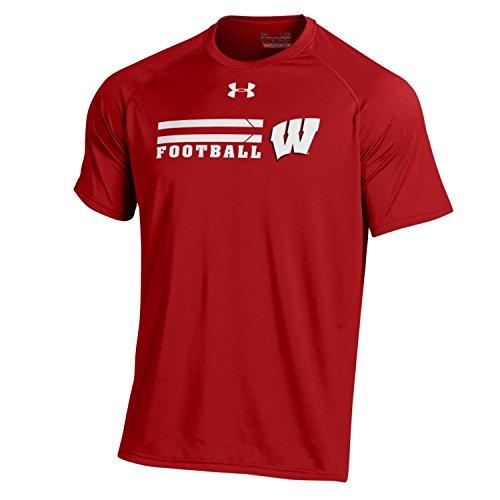 Under Armour NCAA T-Shirt, On-Field Sideline Nutech Tee, für Herren, Herren, Flawless -