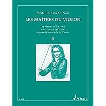 CRICKBOOM - Los Maestros del Violin 4º para Violin y Piano