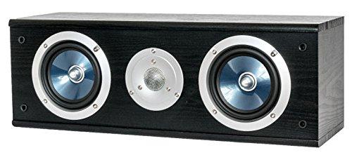 Wolf-Akustik Center-Lautsprecher TRITON 100 C schwarz (Center-lautsprecher Regal)