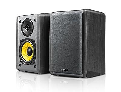 "Edifier R1010BT - 4"" Bluetooth Wireless Creative Reference Multimedia Monitors - Studio Monitor Speaker (Pair) 24 Watts RMS - Black by Edifier"