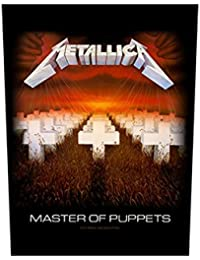 Metallica–Master Of Puppets [Back Patch] Metallica espalda parche.