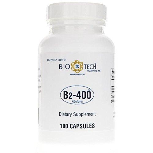 Bio-Tech Vitamin B-2 400 mg 100 caps