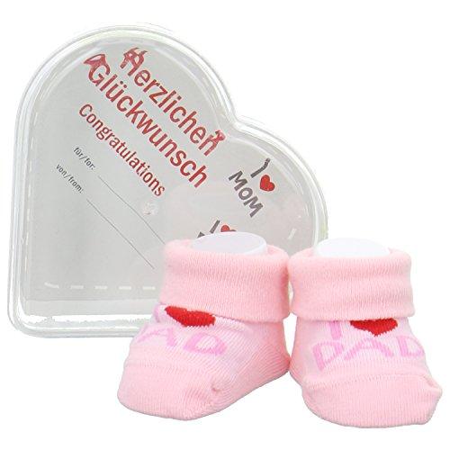Camano Baby Gift Box für Väter Babysocken Pink