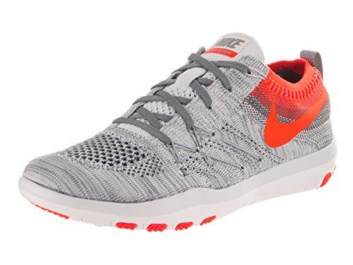 Nike W Free TR Focus Flyknit, Scarpe da Escursionismo Donna pure platinum total crimson 004