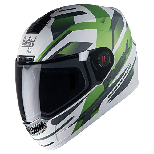 d31f8624 16% OFF on Steelbird SBA-1 R2K Full Face Graphics Helmet in Matt Finish  with Smoke Visor on Amazon | PaisaWapas.com