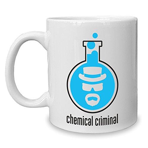 Shirt Department - Kaffeebecher - Tasse - BrBa - Chemical Criminal weiss-schwarz