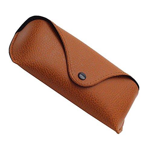 Bolange Gelb Leder Sonnenbrille Schutzbox Protector Aufbewahrungshülle für den Aufbewahrungsbehälter Für Brillen Sonnenb