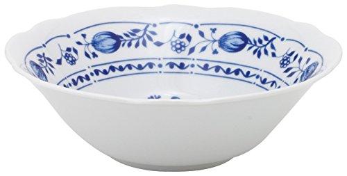 Kahla - Porcelaine pour les Sens 172902A72067U Rossella Zwiebelmuster Plat de Service Bleu 19 cm