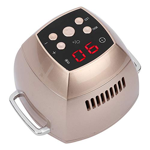 Intelligentes elektronisches Moxibustionsgerät für die Schmerzlinderungstherapie, rauchfreie, sichere und intelligente Fernsteuerung(EU Plug) (Massieren Bett, Kissen)