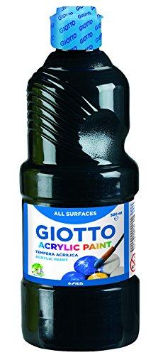 lista dei prezzi Giotto Tempera acrilica nero – 500 ml – 533724