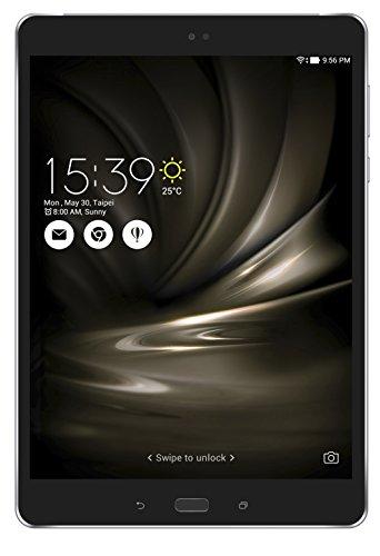 Asus ZenPad 3S 10LTE Tablet, 9,7Zoll (24,6 cm), Qualcomm-Prozessor MSM8956, Schwarz 64 GB schwarz