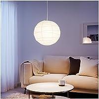 Pantalla lámpara de techo bola papel de arroz punto luz aplique