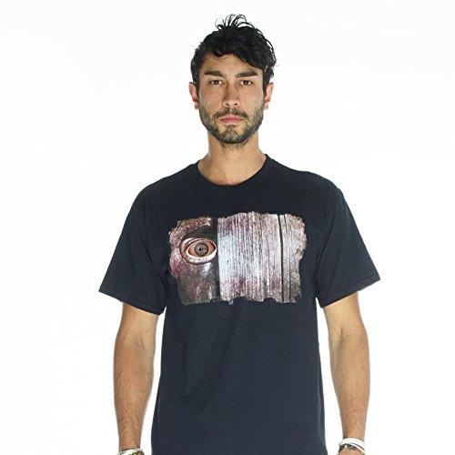 Morph DDTEPFX - Bewegen Augen Spähen Zaun Erwachsenen T-Shirt, ()
