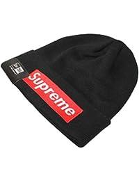 Amaskyline Streetwear Box Logo Knit Cashmere Beanie, Bonnet Homme -Patch  Beanie Hat ebc249285fd4