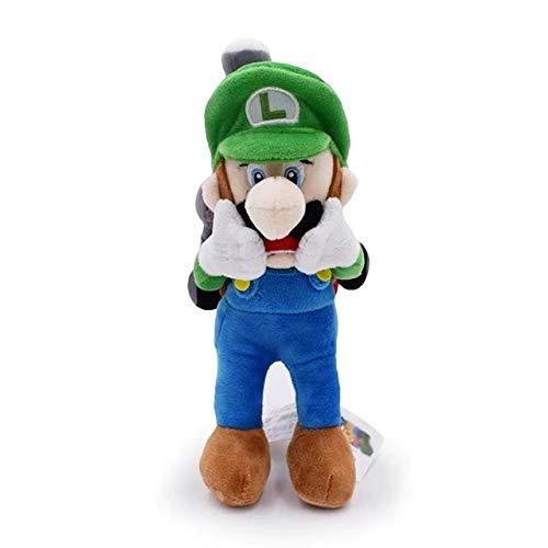 YOUHA 15-28 cm Super Mario Broser JR 3D Land Knochen Kubah Koopa Drache Dark Bowser Kamek Waluigi Wario Lemmy Morton Roy Bully Plüschtiere Luigi Mansion