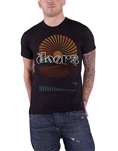 Musik Band T-shirt (The Doors T Shirt Daybreak Band Logo Vintage Nue Offiziell Herren)