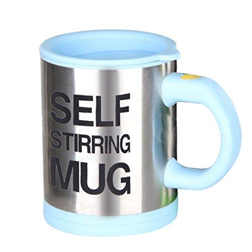 Self-Stirring Mug (light Blue)