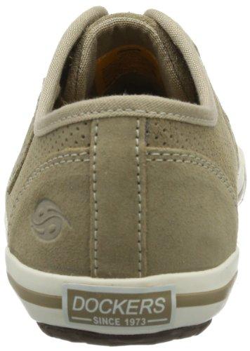 Dockers by Gerli 346042-001047, Chaussures de basketball femme Noir (Sand)