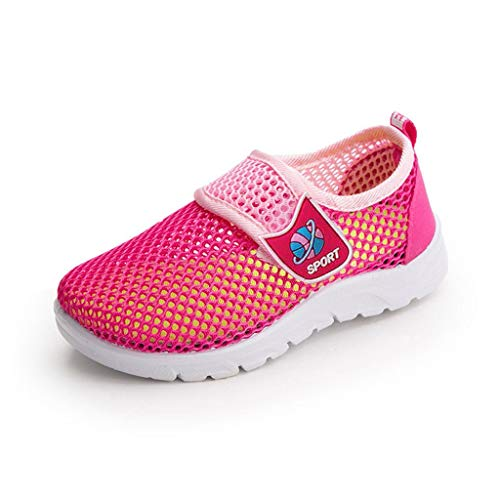 koperras Kinderschuhe Jungen MäNner Und Frauen Single Net Sneakers Atmungsaktive Schuhe Mesh-Schuhe Laufschuhe Kinderschuhe Bequem rutschfest Wild LäSsig