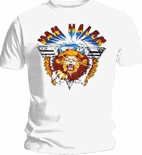 VAN HALEN - LION - OFFICIAL MENS T SHIRT