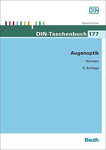Augenoptik (DIN-Taschenbuch)