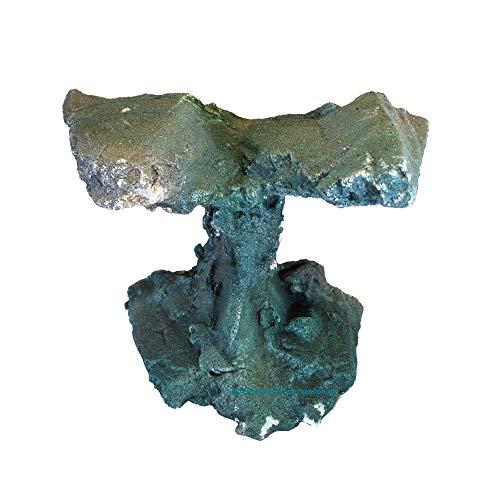 Aquarium Sandstein Riff Deko Größe: ca. 20 x 15 x 15 cm, Farbe: Blau