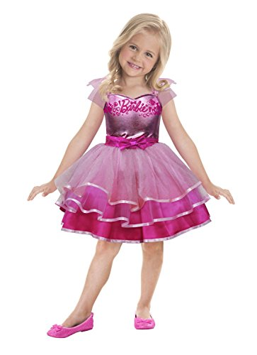 amscan 9900419 Disney Prinzessinen Kinderkostüm Barbie Ballett, 92-98 cm