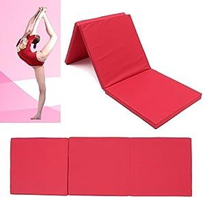 Yogamatte, Faltbare Drei Abschnitte Yogamatte Faltendes Platten...