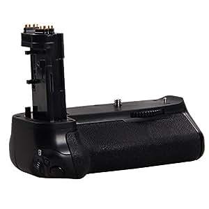 Grip d'alimentation/Batterie grip (télécommande infrarouge) Pour Canon EOS 7D Mark II/2 Reflex Numérique Remplacement pour BG-E16 Fonctionne Avec LP-E6 Batterie Ou 6 Aa Batteries
