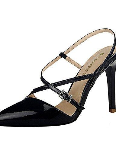 WSS 2016 Chaussures Femme-Décontracté-Noir / Blanc / Argent / Or / Champagne-Talon Aiguille-Talons-Talons-Polyuréthane white-us7.5 / eu38 / uk5.5 / cn38