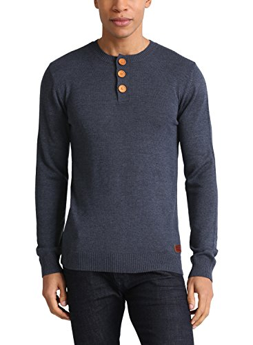 BLEND 703655ME – Pull - col ras du cou – Homme Navy