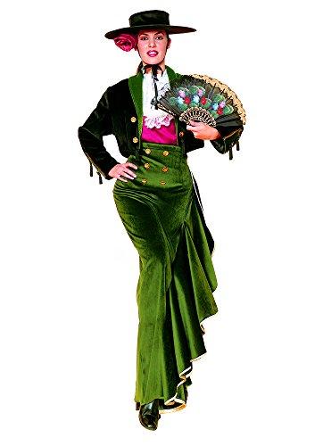 Spanische Senorita Kostüm für Damen Größe (Flamenco Spanische Kostüm Halloween Tänzerin Senorita)