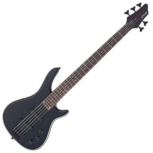 Stagg BC300/5-BK Guitare basse électrique fusion 5 cordes Noir