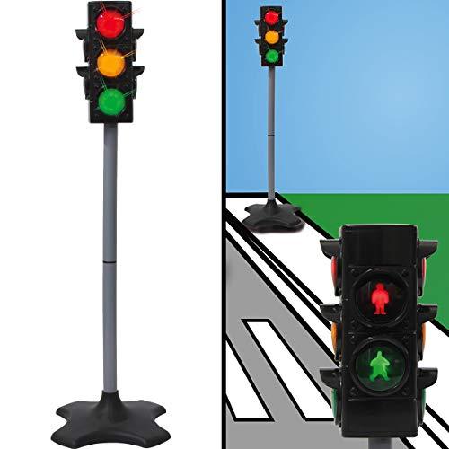 (Vehrkehrszeichen / Verkehrsschilder Set Spielzeug Ampel Schilder Kinder Verkehrserziehung (Ampelanlage))