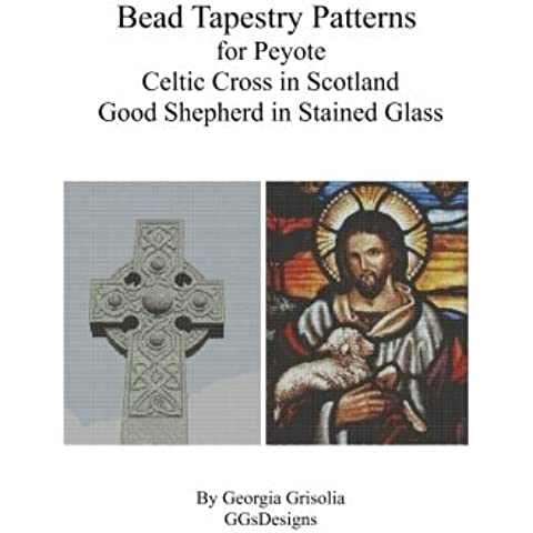 Bead Tapestry Patterns for Peyote Celtic Cross