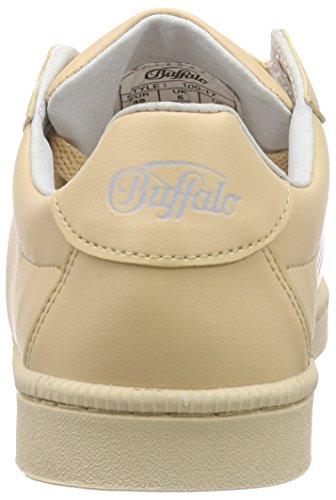 BUFFALO - 100-17 Leather Pu, Scarpe da ginnastica Donna Beige (Beige (NUDE 47))