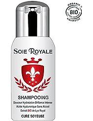 Cure Soyeuse BIO Shampooing 300 ml Hydratant Régénérant Rajeunissant Soie Royale Cheveux Visage Corps Sans alcool.