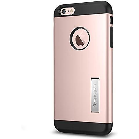 Spigen Slim Armor - Funda para Apple iPhone 6S Plus, color rosa dorado