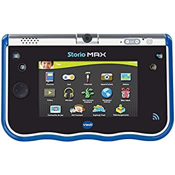 vtech 183805 tablette tactile storio max 5 bleu. Black Bedroom Furniture Sets. Home Design Ideas